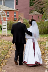 Wedding Couple at Webb-Deane-Stevens Museum