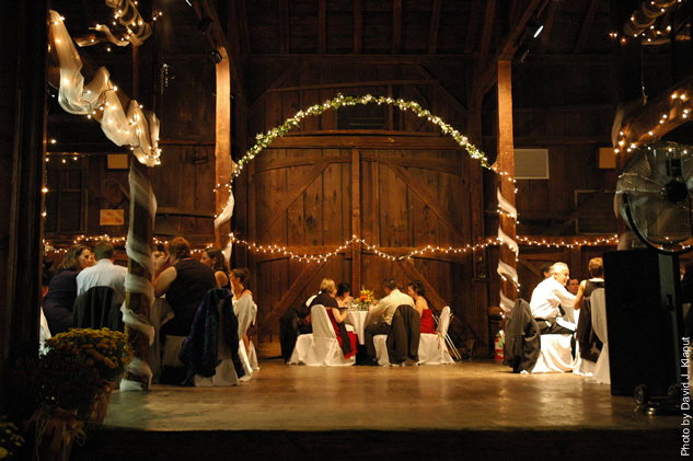 Wedding at the Webb Barn