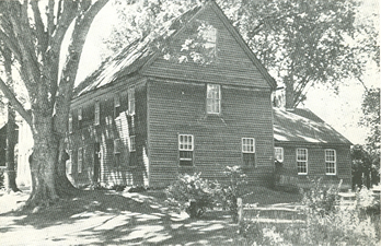 House prior to restoration, Ca. 1930