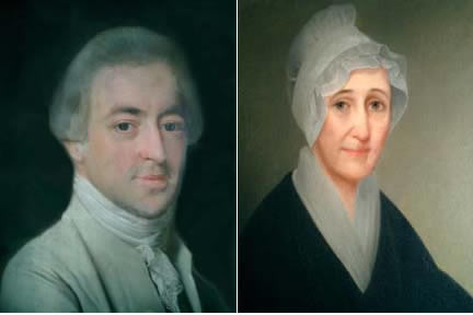 Portraits of Joseph and Abigail Webb