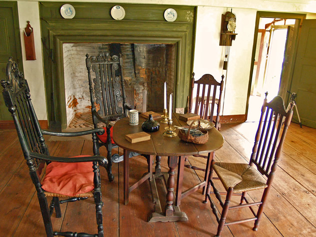 "Buttolph Williams House -  ""Great Hall"" or Parlor"