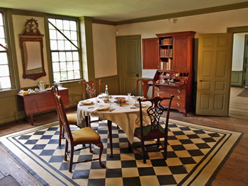 History Of The Silas Deane House In Wethersfield Ct