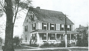 The residence of Congressman E. Hart Fenn, c. 1930. Note the piazza (now missing).