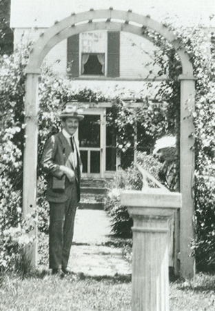 Webb Garden Ca. 1930 From the Webb-Deane-Stevens Archives
