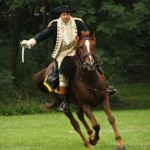 British Attack, 5th Connecticut Regiment and 18th-Century Horsemanship at Revolutionary War Encampment May 24
