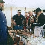 Quill Pens and Two-Tined Forks:  Interesting Oddities Offered at Revolutionary War Encampment