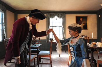 Mr. and Mrs. Silas Deane will host the historical event dressed in period clothing.
