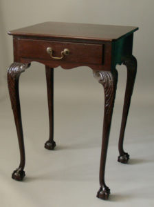 Chippendale-style-Side-Table-c.-1930.-Lent-by-Jan-K.-Liberatore