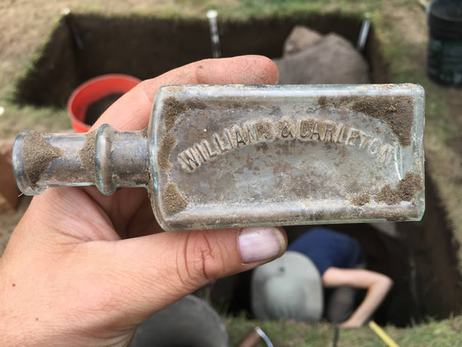 Artifact found during dig