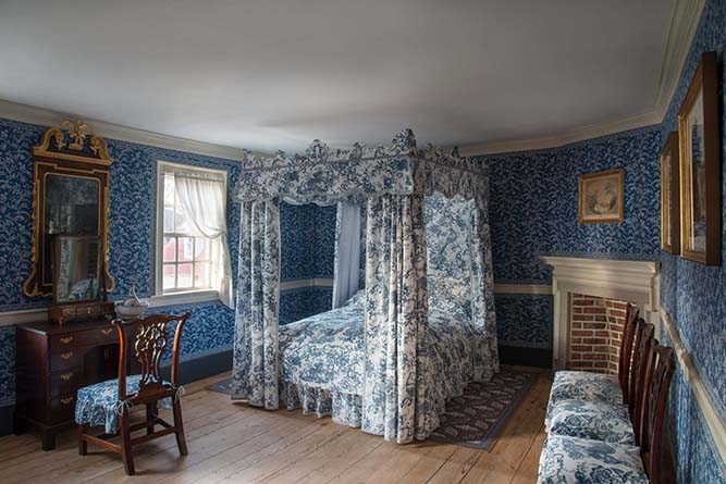 The Blue Room Mt Vernon - credit Mount Vernon Ladies' Association