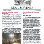 Museum Newsletter Winter 2019